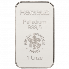 1 Unze Palladiumbarren