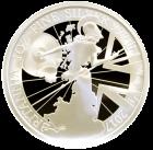 1 Unze Silber Britannia Proof Vorderseite