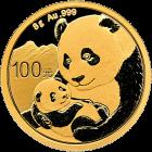 8 g Gold China Panda 2019