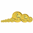 1/4 Unze Gold Lunar Ziege 2015