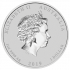 1 Unze Silber Lunar II Schwein 2019