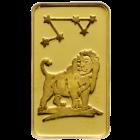 1 g Goldbarren Sternzeichen Loewe