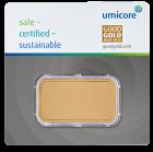 50 g Goldbarren Umicore