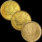 1/20 Unze Gold Maple Leaf
