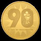 1 Unze Gold Disney Mickey Mouse 90. Geburtstag 2018