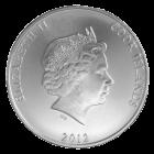 1 Unze Silber Cook Islands | Rückseite Cook Islands Silbermünze 1 Unze von Heimerle + Meule