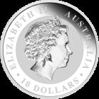 Rückseite 10 Unzen Silber Australien Koala von the Perth Mint Australia | Rückseite 10 Unzen Silber Australien Koala von the Perth Mint Australia