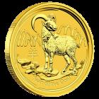 1/20 Unze Gold Lunar Ziege 2015