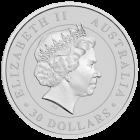 Rückseite der 1kg Silbermünze Australian Koala | Rückseite Silbermünze 1 kg Australian Koala von The Perth Mint Australia