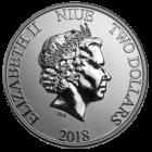 1 Unze Silber Niue Meeresschildkröte 2018