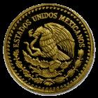 1/20 Unze Gold Mexiko Libertad | Rückseite der Goldmünze 1/20 Unze Libertad Mexico der Casa de Monada de México