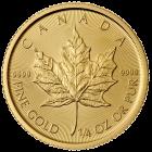 1/4 Unze Gold Maple Leaf