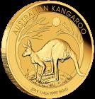 1/4 Unze Gold Australien Känguru 2019