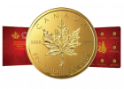 8x 1 g Gold Maplegram Maple Leaf