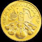 1/2 Unze Gold Wiener Philharmoniker