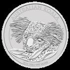 Vorderseite der 1kg Silbermünze Australian Koala | Vorderseite Silbermünze 1 kg Australian Koala von The Perth Mint Australia