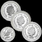 1 Unze Silber Eule von Athen diverse Jahrgänge