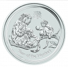 5 Unzen Silber Lunar Affe 2016