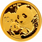 1 g Gold China Panda 2019