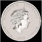 1 Unze Silber Glückwünsche zum Abschluss 2018
