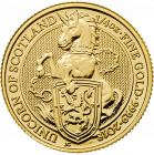 1/4 Unze Gold The Queen´s Beasts - Unicorn of Scotland 2018