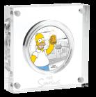 1 Unze Silber Homer Simpson 2019 Proof-Qualität