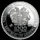 5 Unzen Silber Armenien Arche Noah