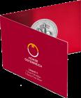 1 Unze Silber 825 Jahre Münze Wien Leopold V. 2019