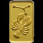 1 g Goldbarren Sternzeichen Krebs