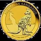 Kängurumünze 1/10 Unze Gold Australien | Rückseite der Kängurumünze 1/10 Unze Gold der Perth Mint Australia