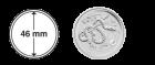 Lunar Münzkapseln 46 mm