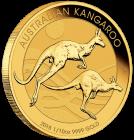 1/10 Unze Gold Australien Känguru 2018