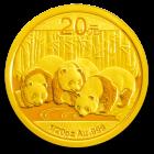 1/20 Unze Gold China Panda