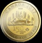 1 Unze Gold Kanada 150 Jahre Voyageur 2017
