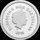 1/4 Unze Silber Eule von Athen 2019