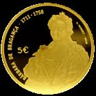 5 Euro Maria Barbara 2017 Vorderseite