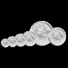 1 Unze Silber Lunar Ziege 2015