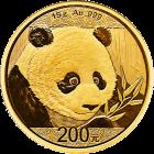 15 g Gold China Panda 2018