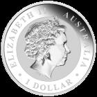 Rückseite der 1 Unze Silbermünze Kookaburra | Rückseite der 1 Unze Silbermünze Kookaburra von The Perth Mint Australia