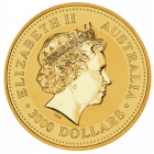 Rückseite 1 kg Gold Australien Känguru | Rückseite Goldmünze 1 Kilogramm Australian Kangaroo der Perth Mint Australia