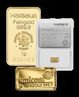 1 g Goldbarren