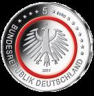 5 Euro-Sammlermünze 2017 Tropische Zone