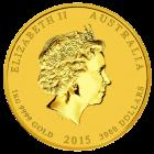 1 kg Gold Lunar Ziege 2015