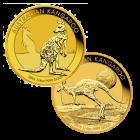 1/4 Unze Gold Australien Känguru