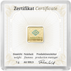 30 x 1 g Goldbarren Geiger original (Tube)