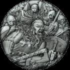 2 Unzen Silber Kriegsführung Wikinger 2018