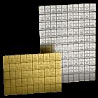 50 x 1 Gramm Combibar Goldtafel   Combibar 50 x 1 Gramm Goldtafel von Valcambi