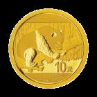 1 g Gold China Panda 2016