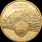 1/4 Unze Gold Mozart 2017