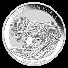 Vorderseite 10 Unzen Silber Australien Koala von The Perth Mint Australia | Vorderseite 10 Unzen Silber Australien Koala von The Perth Mint Australia